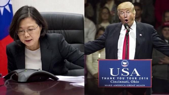 Cuộc điện đàm giữa ông Trump và bà Thái Anh Văn đã khiến Trung Quốc nổi giận