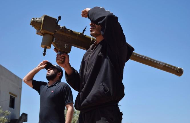 Phiến quân Syria đã nhận được nhiều tên lửa phòng không vác vai do một số nước phương Tây và Vùng Vịnh chuyển giao