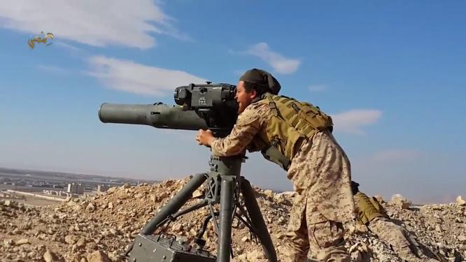 Phiến quân Syria được CIA và một số quốc gia Vùng Vịnh viện trợ tên lửa TOW
