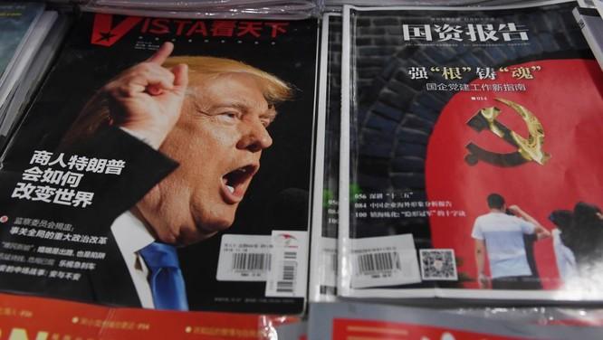 Ông Trump đang thu hút sự chú ý lớn từ truyền thông cho đến chính giới Trung Quốc