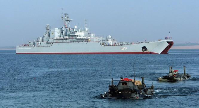 Hải quân NATO tập trận ở Biển Đen gần lãnh thổ Nga