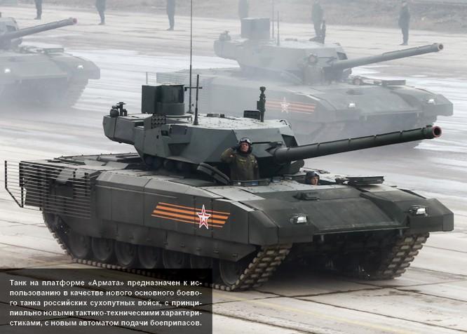 Siêu tăng Armata của Nga được xem là cách mạng về công nghệ