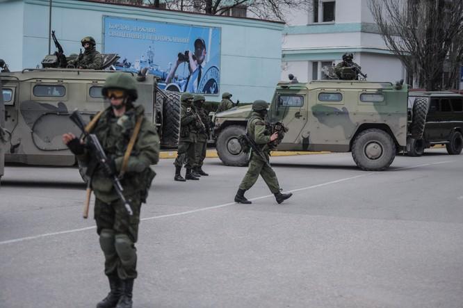 Đặc nhiệm Nga có mặt tại Crimea trước khi sáp nhập bán đảo