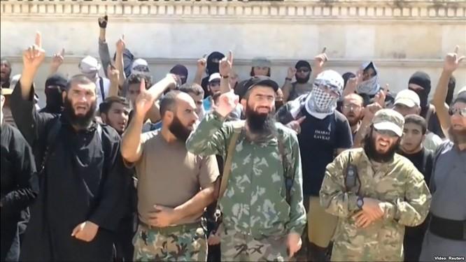 Có hàng ngàn chiến binh thánh chiến ở Syria là công dân các nước cộng hòa thuộc Nga