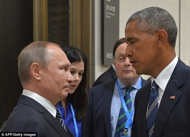 Sự căng thẳng lộ rõ trong các cuộc tiếp xúc giữa hai nguyên thủ Nga và Mỹ