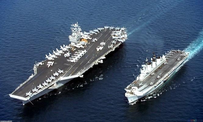 Lần đầu tiên kể từ sau chiến tranh thế giới thứ hai, Mỹ rút toàn bộ tàu sân bay đang hoạt động trên thế giới về nước