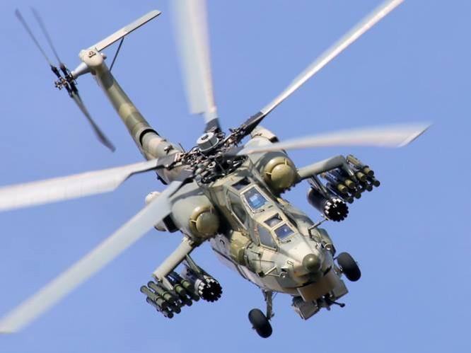Trực thăng vũ trang Mi-28 của Nga chiến đấu tại Syria