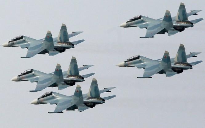 Biên đội chiến đấu cơ của Nga