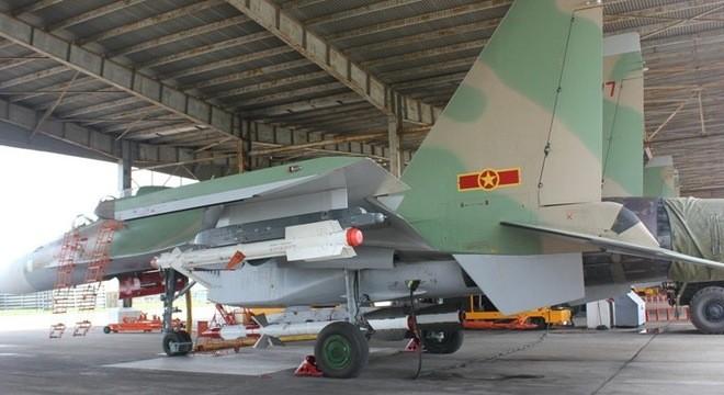Chiến đấu cơ Su-30MK2 của không quân Việt Nam