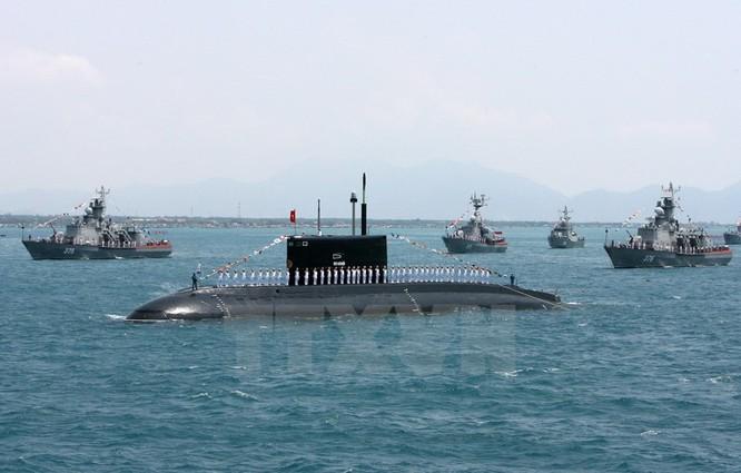 Hải quân Việt Nam là một trong những quân binh chủng được ưu tiên đầu tư tiến thẳng lên hiện đại