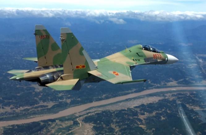 Dàn chiến đấu cơ Su-30MK2 của không quân nhân dân Việt Nam