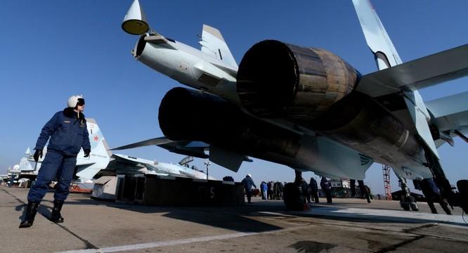 Chiến đấu cơ Su-35 của Nga cũng đã xuất chiến tại Syria