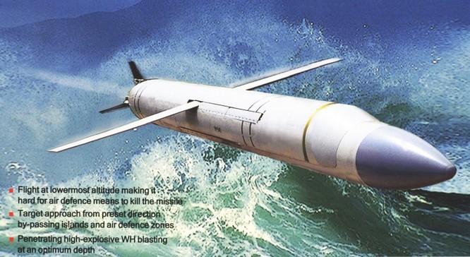 Tên lửa chống hạm Klub - phiên bản của Kalibr