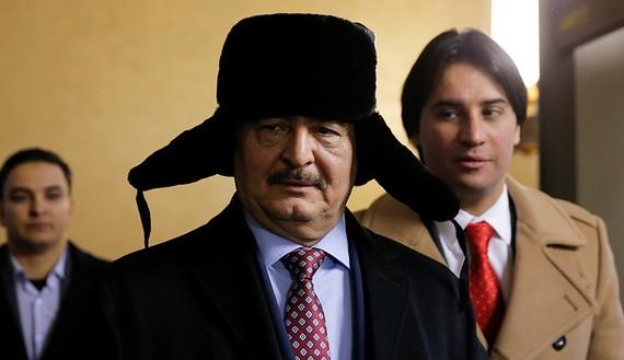 Ông Khalifa Hifter được Nga đón tiếp trọng thị