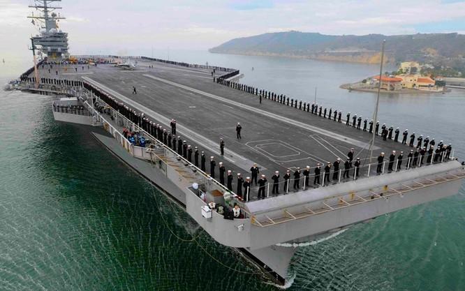 Siêu tàu sân bay Ford của hải quân Mỹ