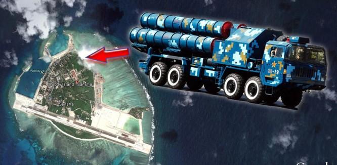 Quân đội Trung Quốc đã triển khai chiến đấu cơ J-11, tên lửa phòng không HQ-9, chiến đấu cơ J-11B và tên lửa HQ-9 tại đảo Phú Lâm ở quần đảo Hoàng Sa