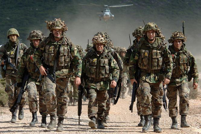 Binh sĩ NATO đang được tăng cường tới các nước thành viên ở Đông Âu