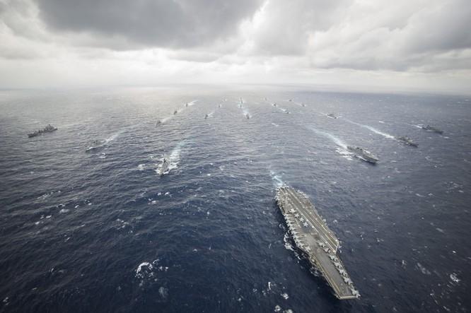 Mỹ thường xuyên điều cụm tác chiến tàu sân bay tuần tra Biển Đông đề phòng tình hình leo thang căng thẳng
