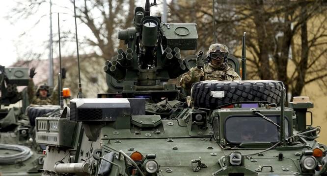 Mỹ đã điều động thêm lực lượng tới châu Âu