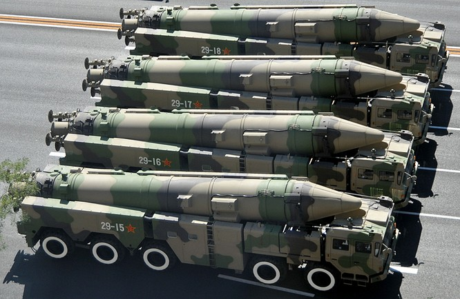 Tên lửa đạn đạo DF-21C của quân đội Trung Quốc