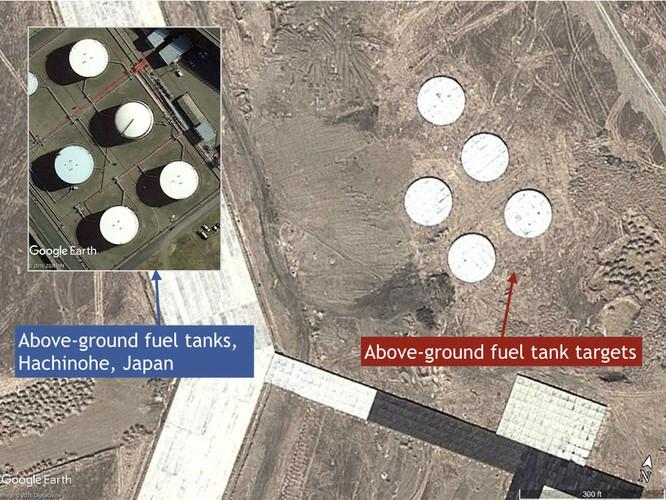 Mục tiêu F-22 giả định mô phỏng tiêm kích tàng hình F-22 Mỹ tại căn cứ Kadena, Nhật Bản