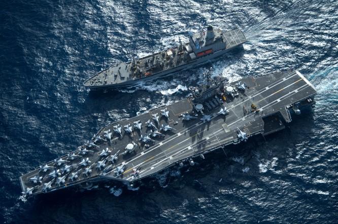 Cụm tác chiến tàu sân bay Carl Vinson của Mỹ đang hướng tới Biển Đông