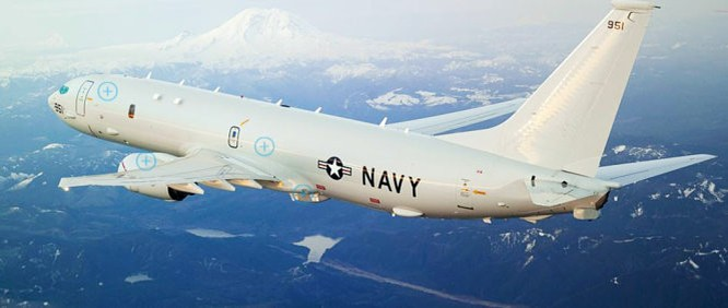 Máy bay săn ngầm P-8 của Mỹ thường xuyên hoạt động ở Biển Đông