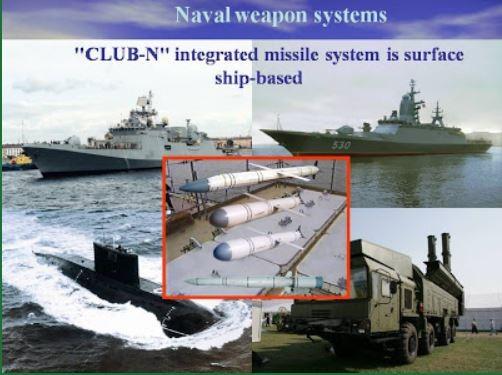 Tên lửa Klub có thể được trang bị cho các tàu chiến măt nước và tàu ngầm của hải quân Việt Nam