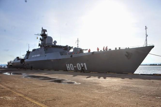 Tàu Đinh Tiên Hoàng - Một trong các chiến hạm Gepard của hải quân Việt Nam