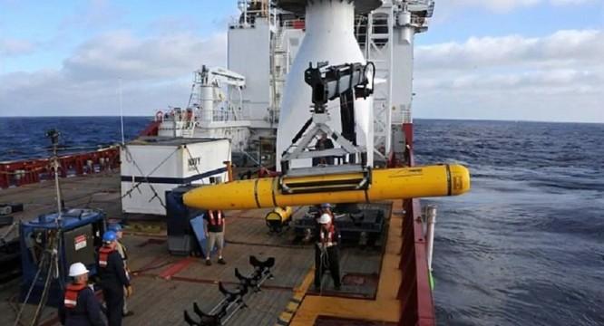 Trung Quốc đã thu giữ một tàu lặn không người lái của hải quân Mỹ vào cuối năm 2015, sau đó đã phải trả lại