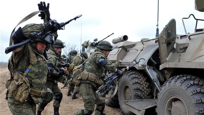 Binh sĩ Nga trong cuộc tập trận tại Chechnya