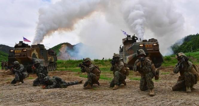 Quân đội Mỹ và Hàn Quốc liên tục tập trận chung trong bối cảnh bán đảo Triều Tiên căng thẳng