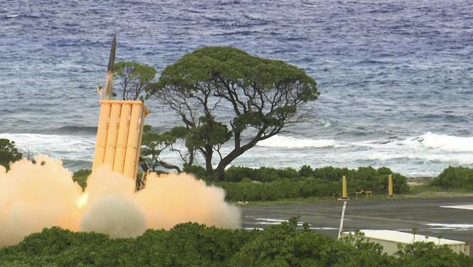 Mỹ đã triển khai hệ thống phòng thủ tên lửa THAAD tại Hàn Quốc nhằm đánh chặn tên lửa Triều Tiên