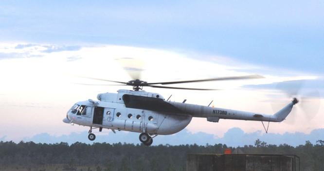 Đặc nhiệm Mỹ cũng được cho là sử dụng cả trực thăng Mi-171 do Nga sản xuất trong các chiến dịch bí mật
