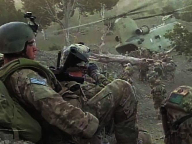 Lính đặc nhiệm Mỹ tác chiến tại Afghanistan