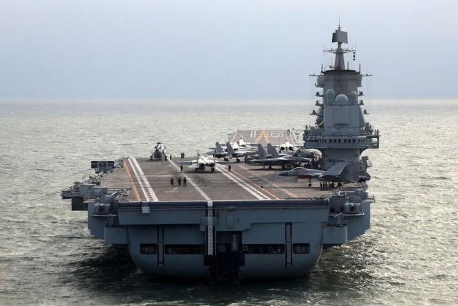 Tàu sân bay Liêu Ninh của Trung Quốc vừa kết thúc chuyến diễn tập dài ngày trên biển