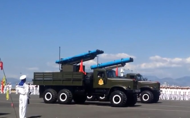 Tên lửa Extra của hải quân Việt Nam