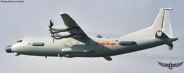 Máy bay trinh sát, tác chiến điên tử của Trung Quốc