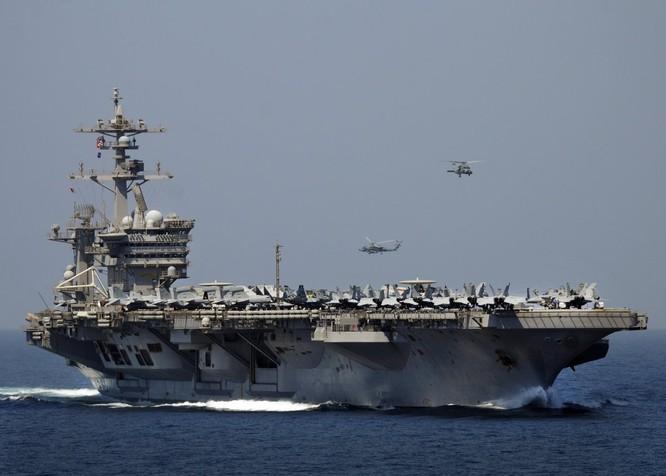 Cụm tác chiến tàu sân bay Mỹ vẫn thường xuyên hiện diện ở châu Á-Thái Bình Dương