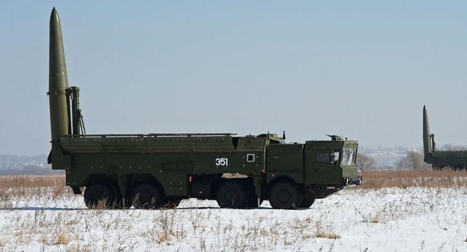 Nga đã triển khai tên lửa đạn đạo chiến thuật Iskander tại vùng lãnh thổ Kaliningrad