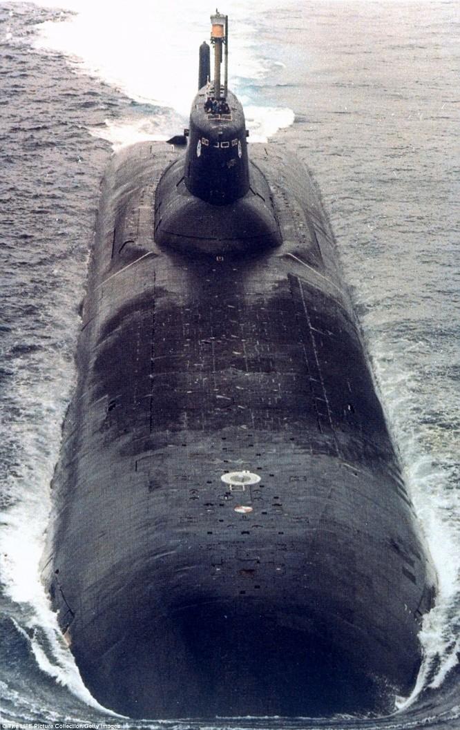 Bên trong khoang điều khiển tàu ngầm lớp Typhoon của hải quân Nga