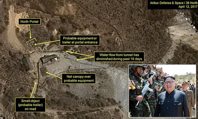 Triều Tiên được cho là đang chuẩn bị tiến hành thử hạt nhân lần thứ 6