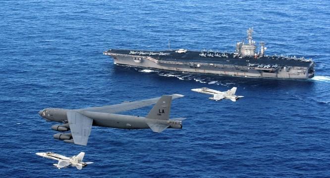 Mỹ có kế hoạch điều ít nhất 3 cụm tác chiến tàu sân bay tới khu vực Đông Bắc Á do bán đảo Triều Tiên tăng nhiệt