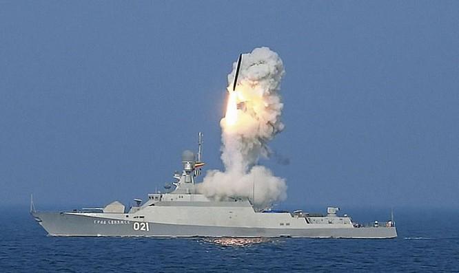 Chiến hạm cỡ nhỏ lớp Buyan-M từng phóng tên lửa hành trình Kalibr tấn công phiến quân Syria khiến Mỹ và NATO sửng sốt