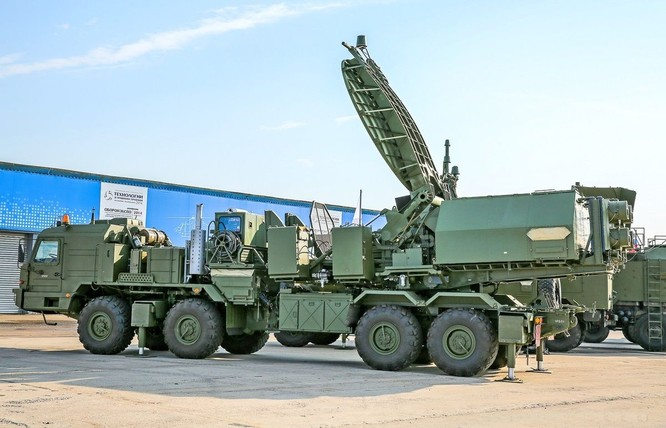 Hệ thống tác chiến điên tử tối tân của Nga