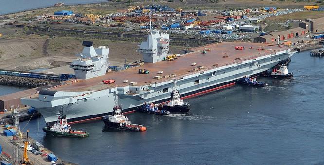 Tàu sân bay mới đang đóng dở của Anh có thể sẽ vô dụng trước tên lửa siêu thanh Nga