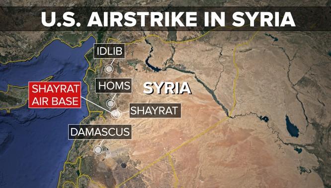 Vụ tấn công căn cứ không quân Syria là một nước cờ mà tổng thống Trump đã phải cân nhắc rất kỹ về những hệ lụy sau đó