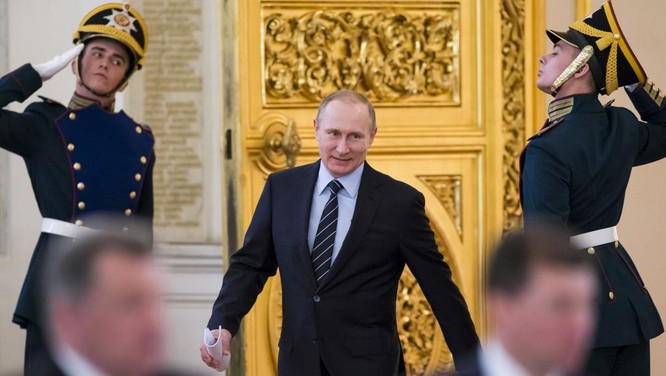 Ông Putin liên tục lọt vào top những nhân vật có ảnh hưởng nhất thế giới những năm gần đây