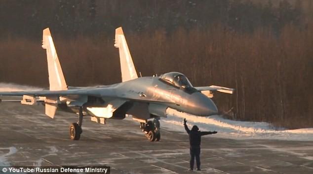 Chiến đấu cơ Su-35 Nga đã được triển khai tại Karelia ở biên giới phía Tây nhằm đối phó với sự hiện diện của NATO sát biên giới Nga