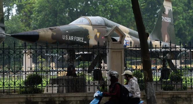 Máy bay F-5 chiến lợi phẩm Việt Nam thu được sau khi giải phóng Miền Nam